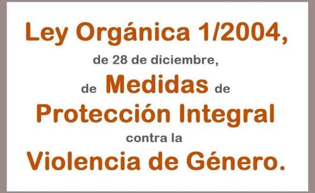Ley Orgánica 1/2004